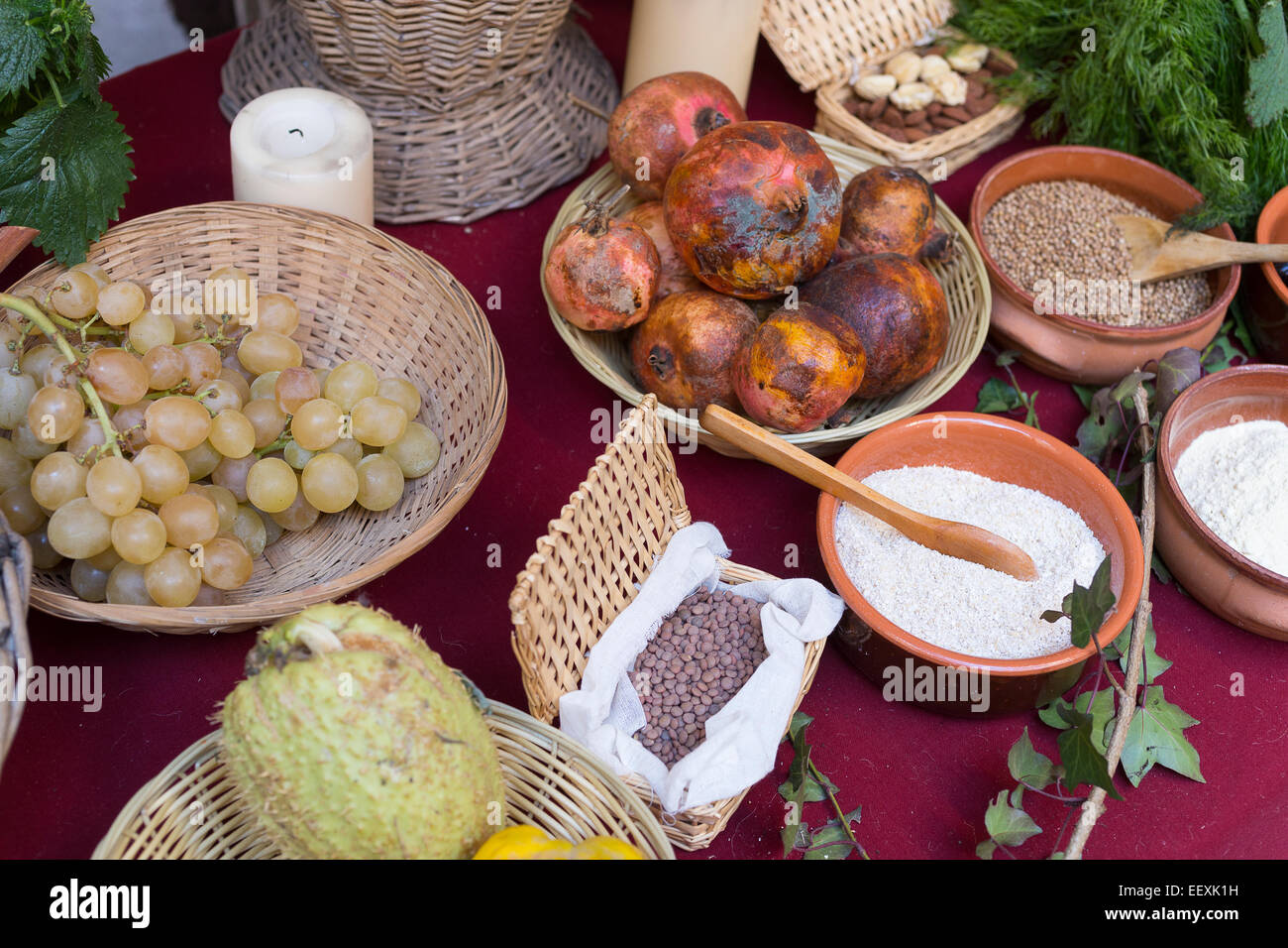 Ancient Greece Festival Food