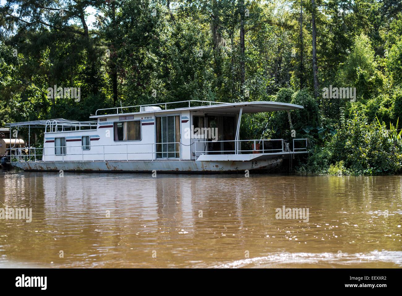 Louisiana Swamp Land Delta Wetlands Mississippi River