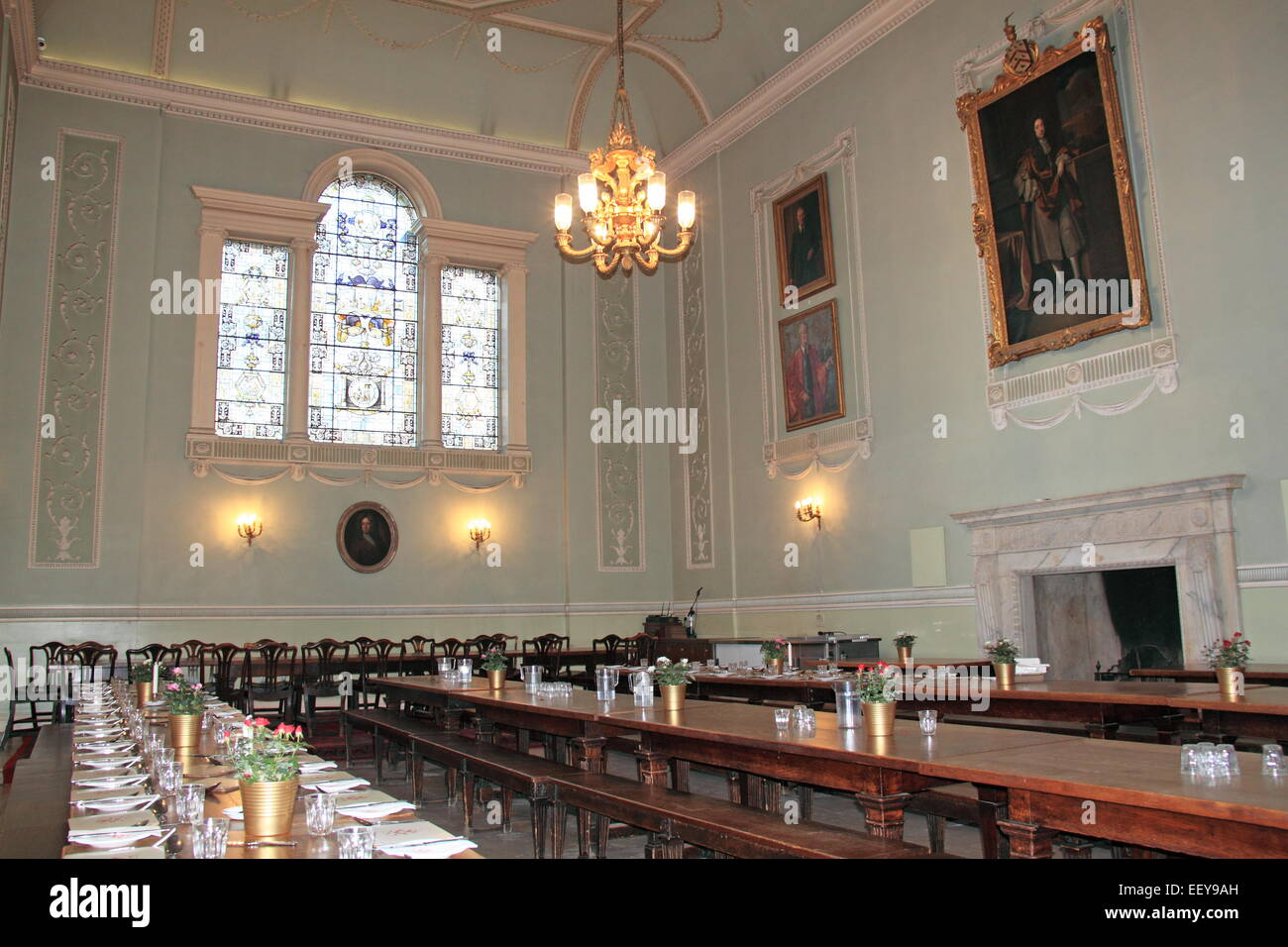 Worcester College Hall University Of Oxford Oxfordshire England