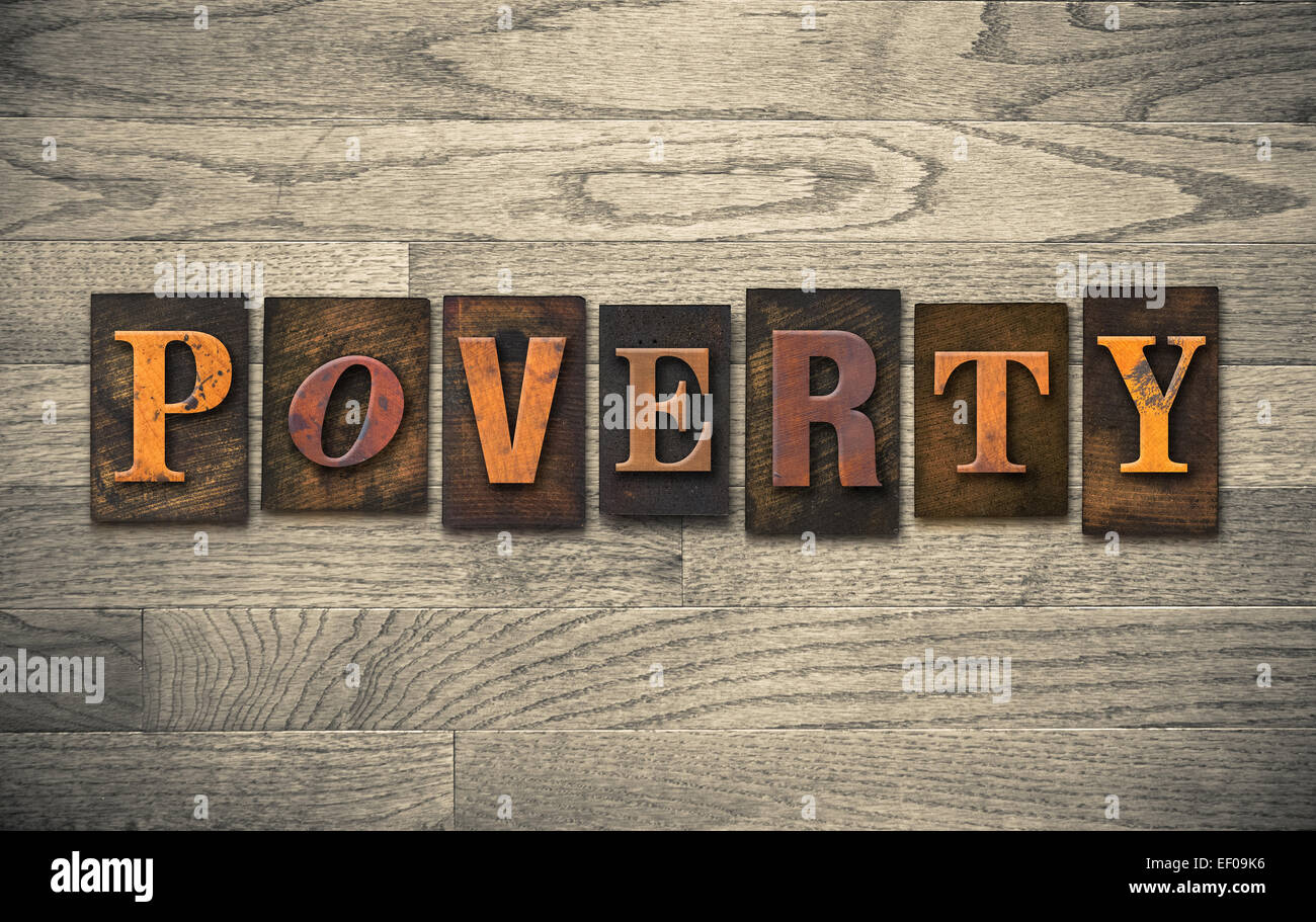 Another Word For Poverty  Letters