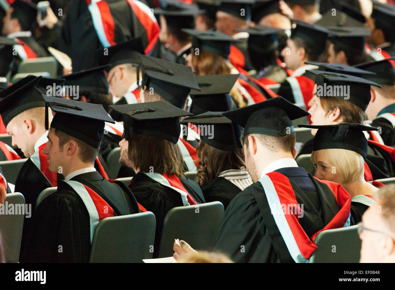 Students Assembled ready for Graduation Ceremony 2015 University ...