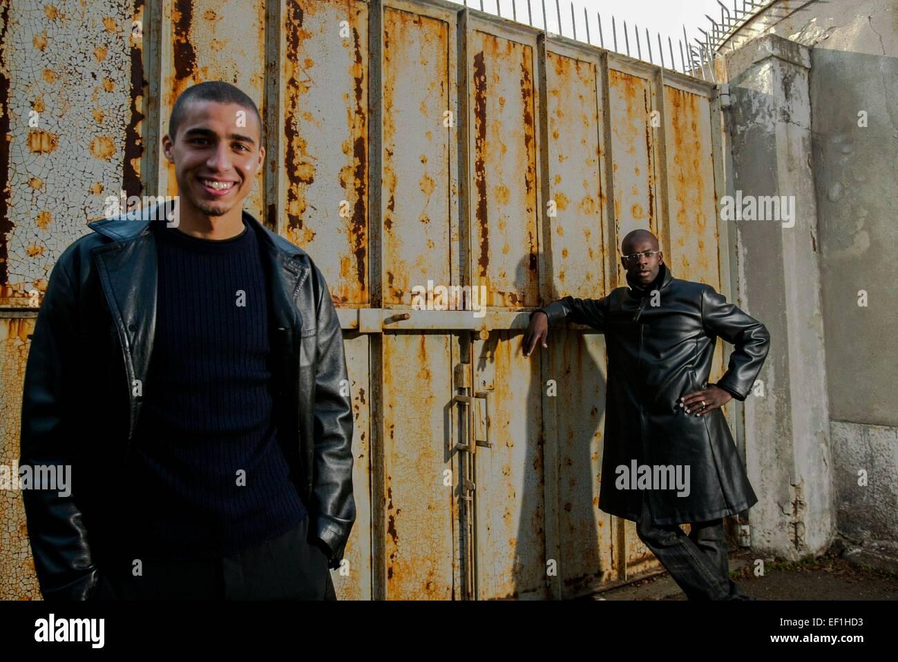 David TREZEGUET Lilian THURAM 04 02 2002 Magazine Juventus