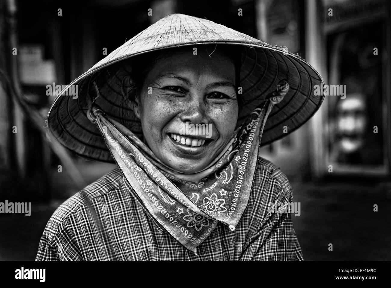 Stock Photo - Street Vendor in Ho Chi <b>Minh City</b>, Vietnam, Asai - street-vendor-in-ho-chi-minh-city-vietnam-asai-EF1M9C