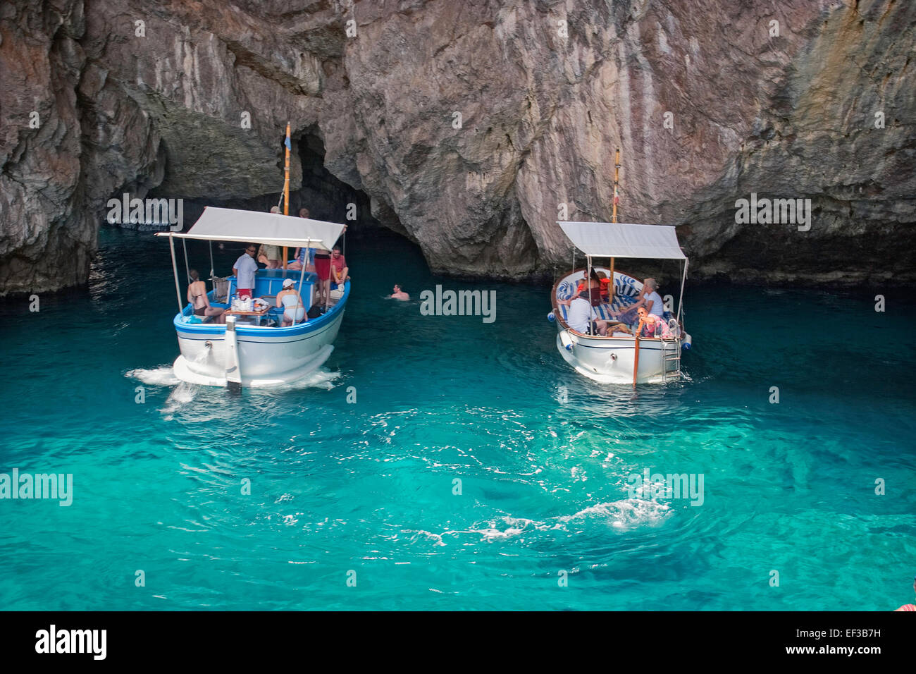 Green grotto isle of capri italy stock photo royalty for Isle of capri tours