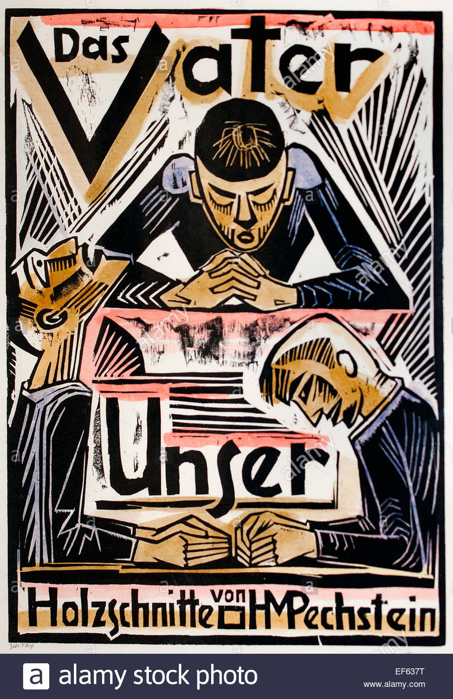 das vater unser the lord u0027s prayer woodcut on paper 1921 max
