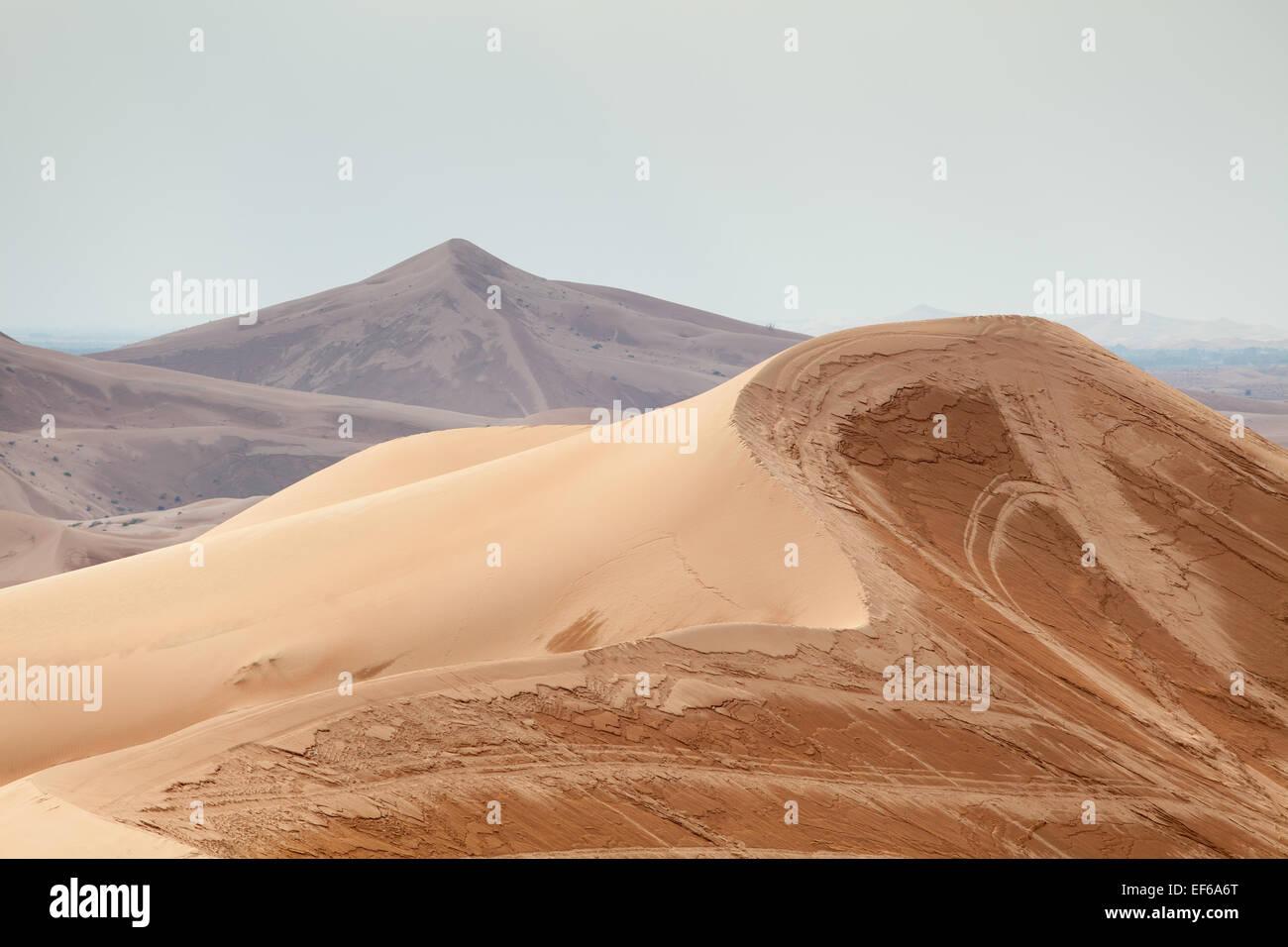Sand dunes at the desert of arabian peninsula stock photo royalty sand dunes at the desert of arabian peninsula sciox Images
