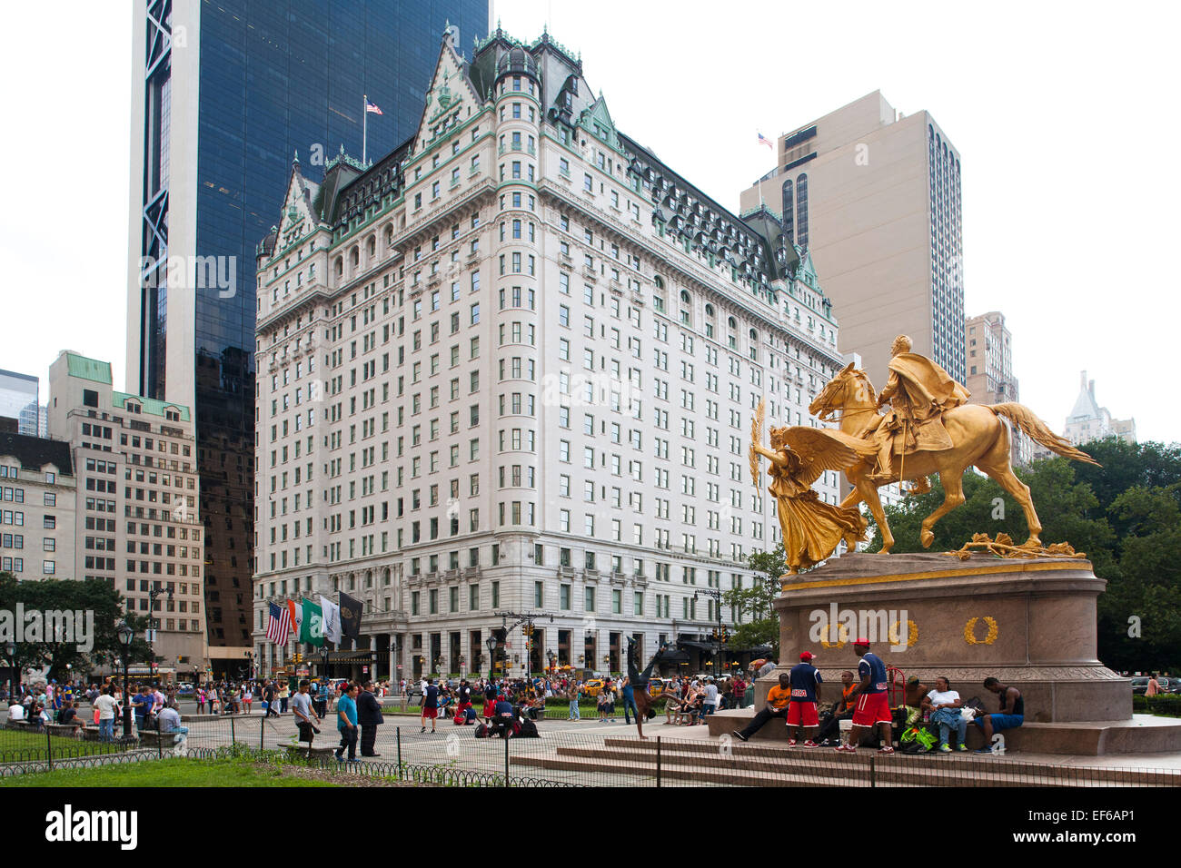 Plaza Hotel Central Park South And Grand Army Plaza