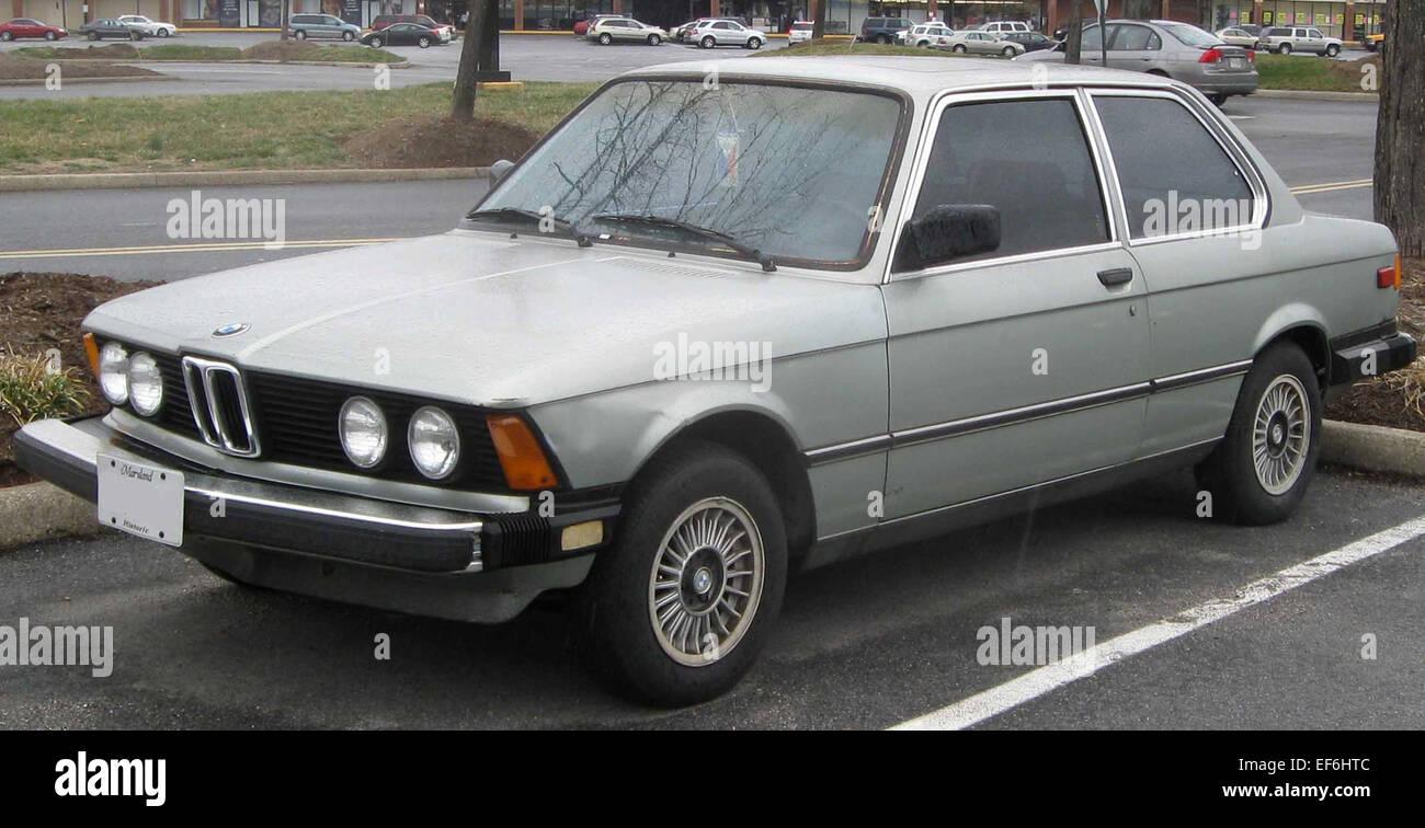 BMW I Door Stock Photo Royalty Free Image Alamy - Bmw 320i 2 door