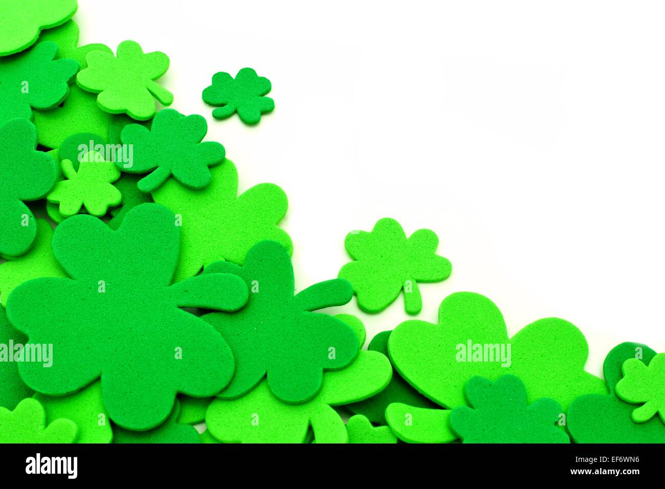 st patricks day shamrock border stock photos u0026 st patricks day