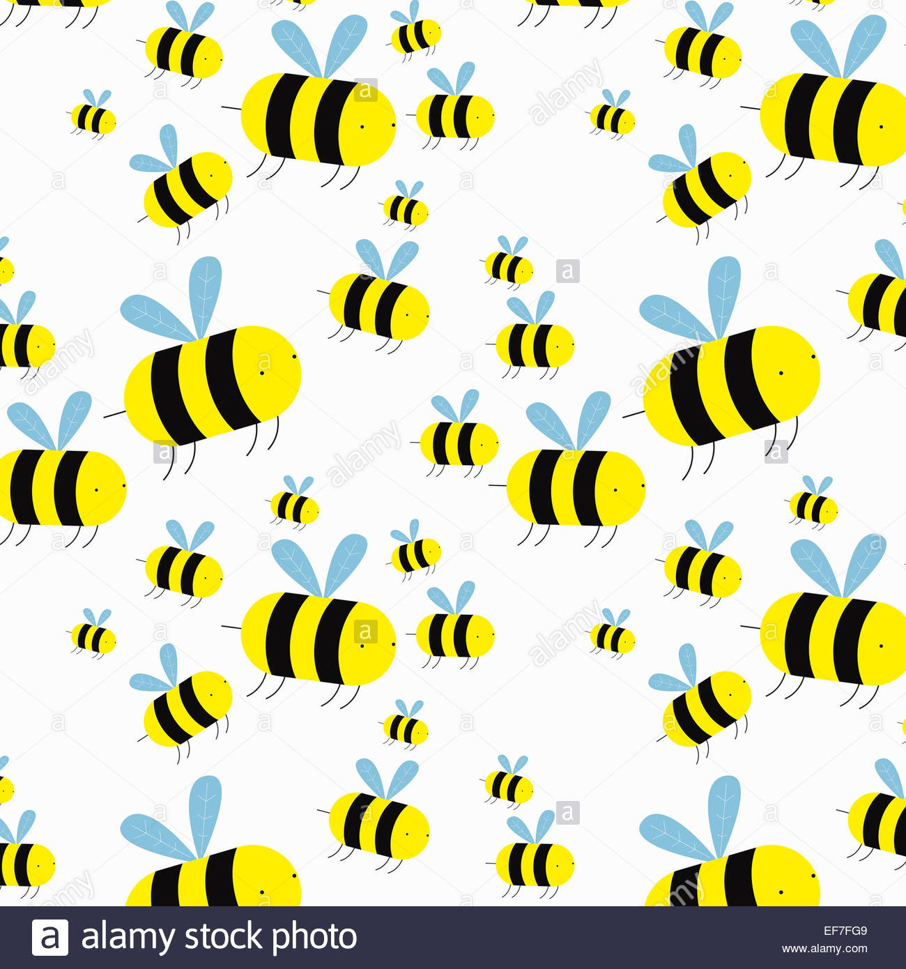 swarm of cartoon bees stock photo royalty free image 78227193