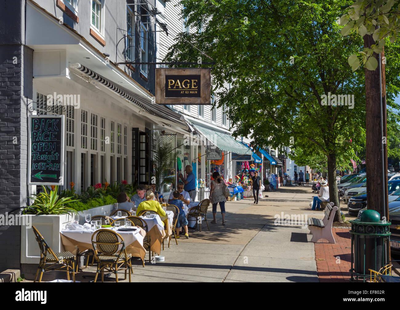 East Hampton Main Street Restaurants