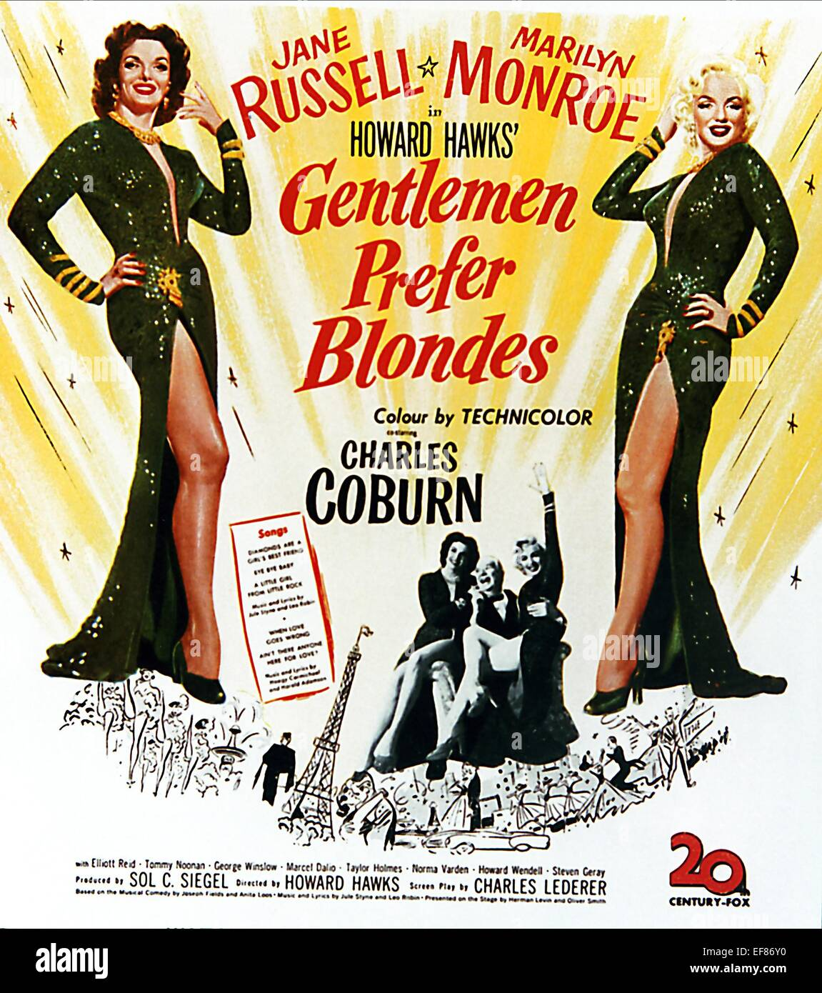 gentlemen prefer blondes Gentlemen prefer blondes is a 1953 american technicolor musical comedy film of the 1949 stage musical, released by 20th century fox, directed by howard hawks, .