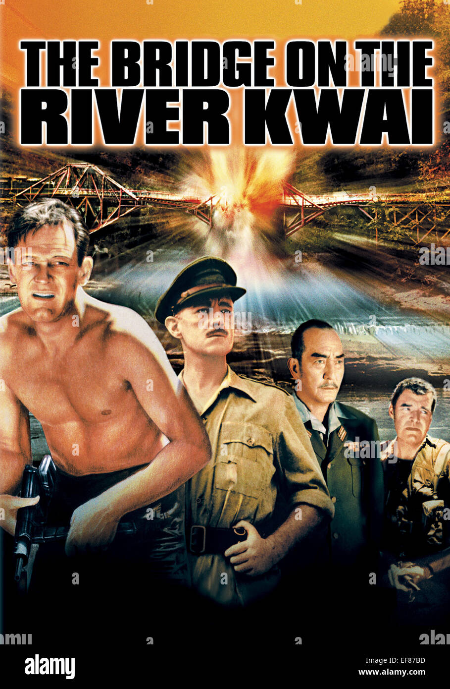 Image result for william holden in the bridge on the river kwai