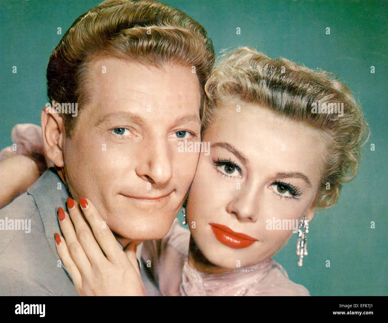 DANNY KAYE & VERA-ELLEN WHITE CHRISTMAS (1954 Stock Photo, Royalty ...