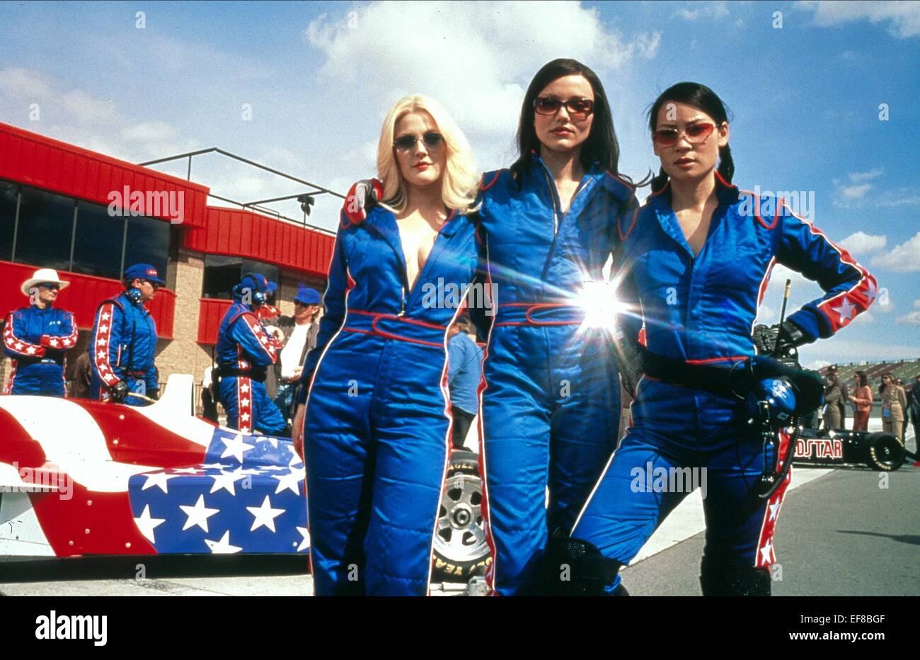 DREW BARRYMORE CAMERON DIAZ & LUCY LIU CHARLIE'S ANGELS ... Charlies Angels 2000