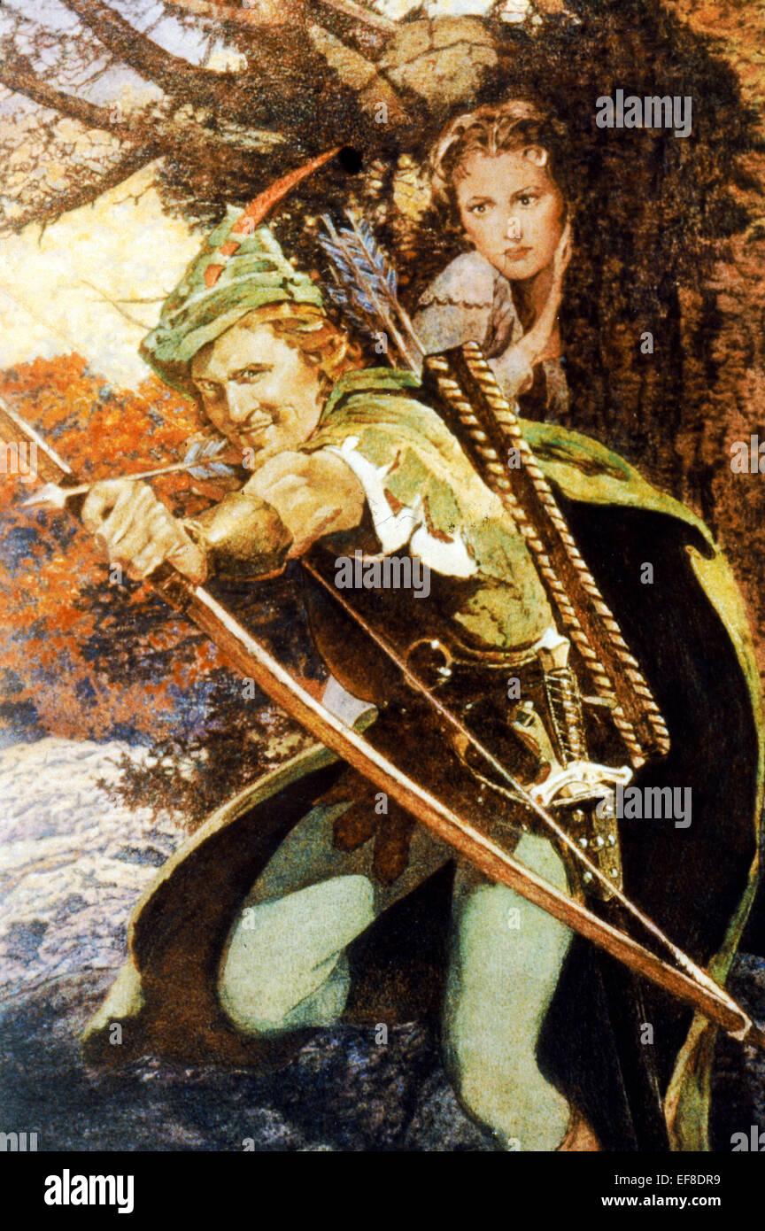 errol flynn amp olivia de havilland the adventures of robin