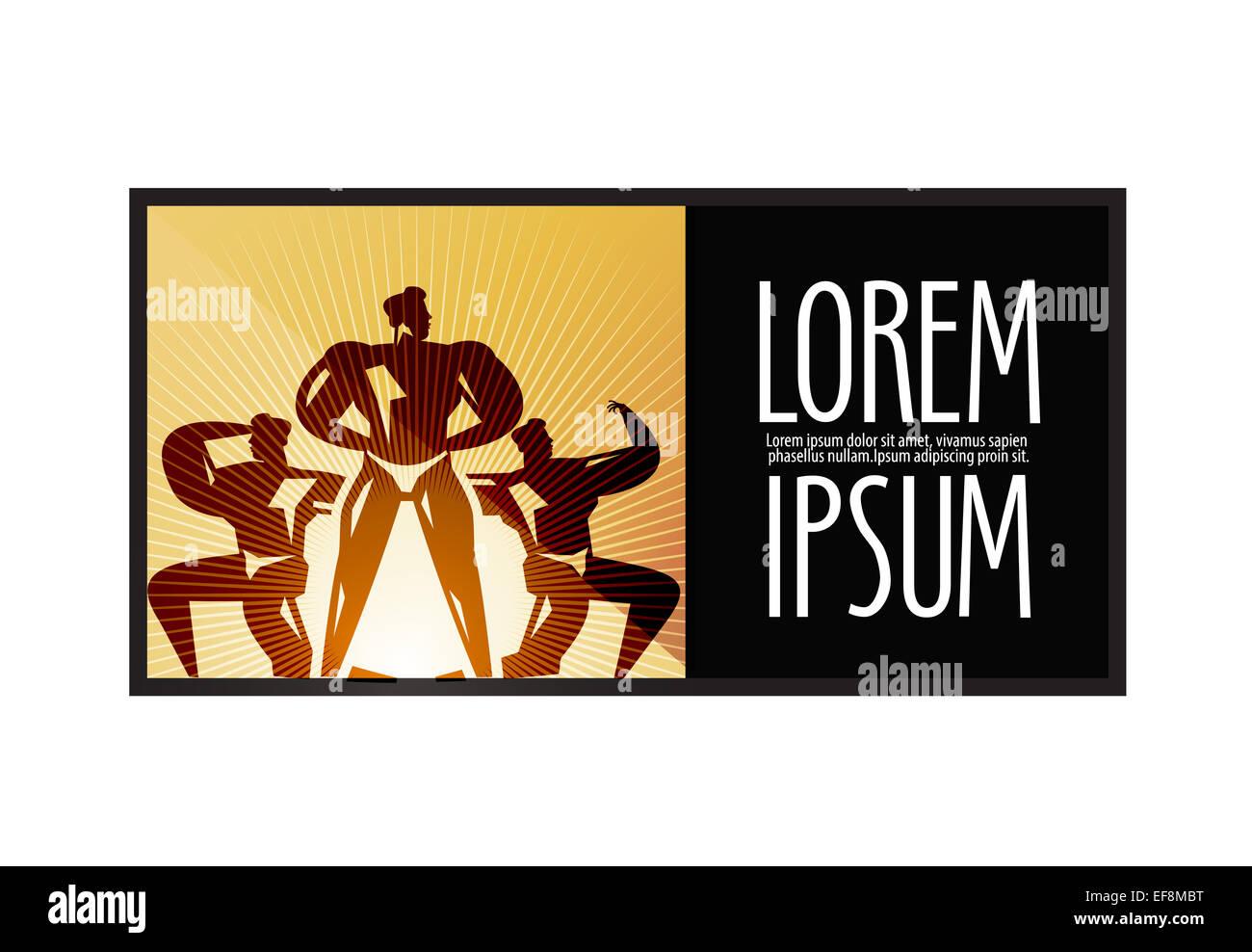 Sports Logo Design Template Fitness Or Bodybuilding Icon