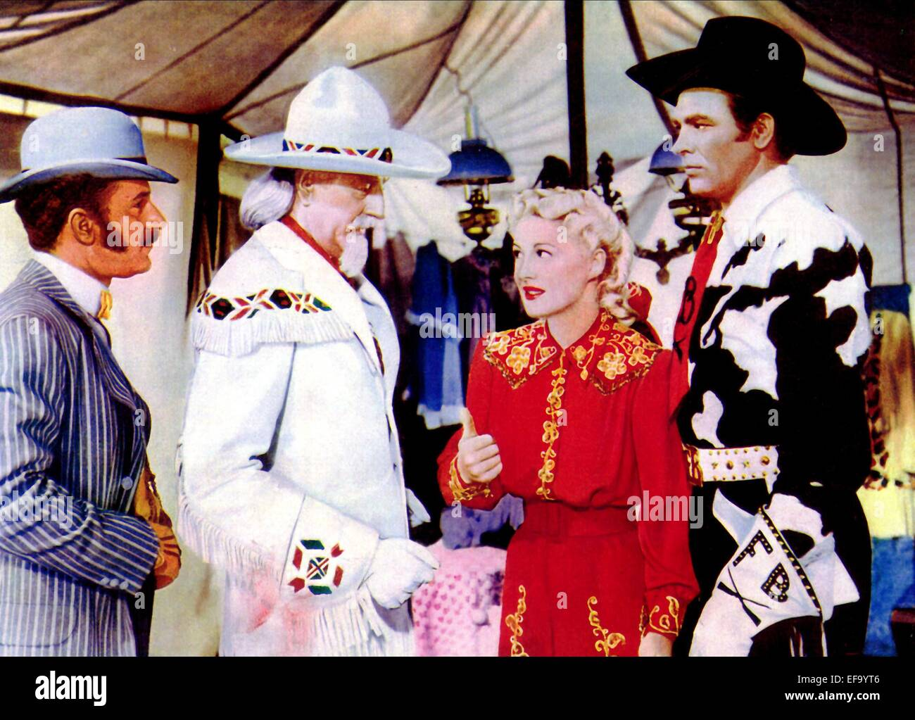 LOUIS CALHERN BETTY HUTTON & HOWARD KEEL ANNIE GET YOUR ...