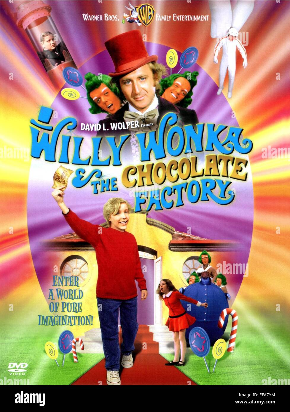 GENE WILDER & PETER OSTRUM POSTER WILLY WONKA & THE CHOCOLATE ...