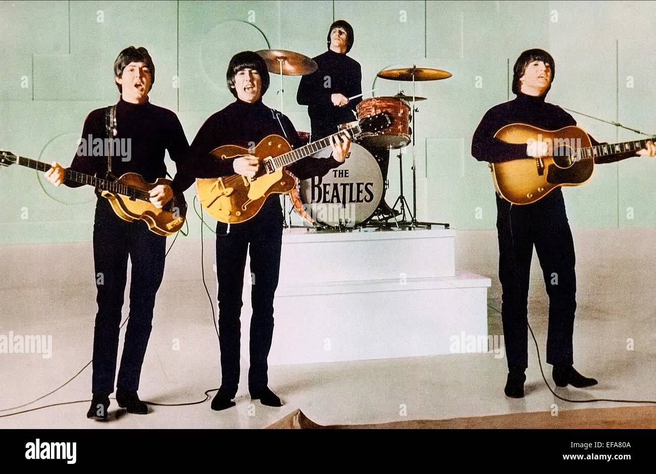 Paul Mccartney George Harrison Ringo Starr Amp John Lennon