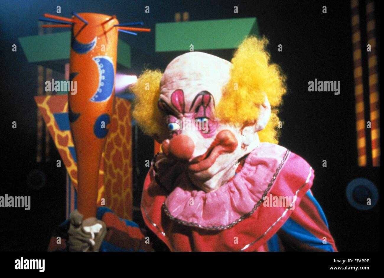 Scary clown killer klowns from outer space 1988 stock for Space clowns