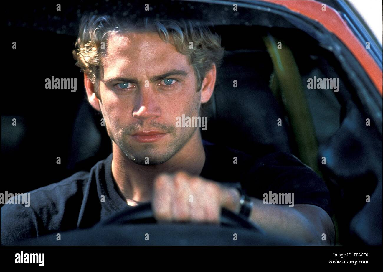 Fast And Furious 2001 Paul Walker Fast And Furiou...