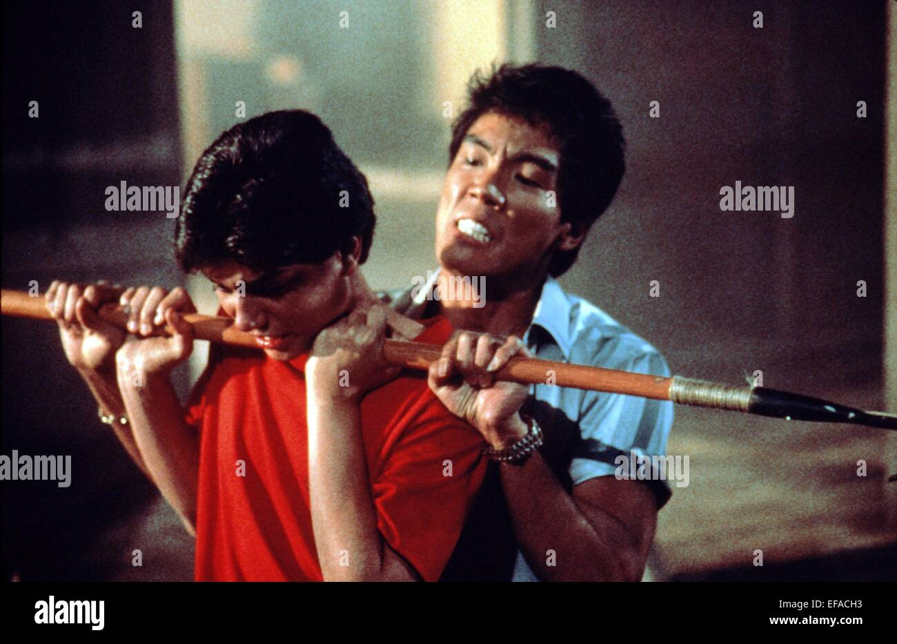 RALPH MACCHIO & YUJI OKUMOTO THE KARATE KID PART II; THE ... Yuji Okumoto Family