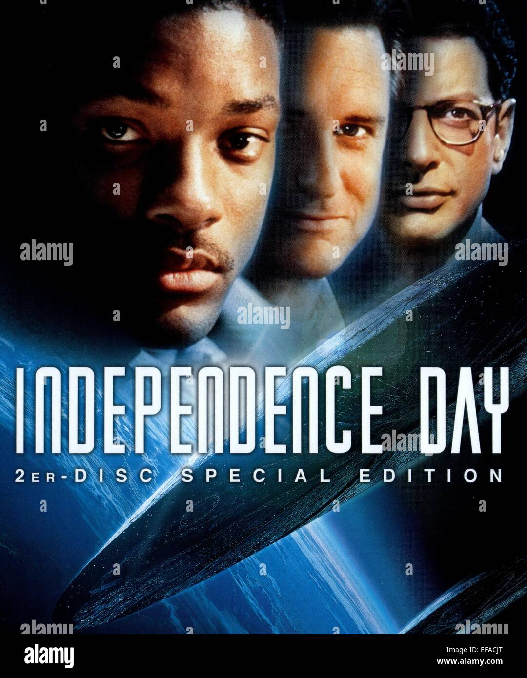 MOVIE POSTER INDEPENDENCE DAY (1996 Stock Photo, Royalty ...