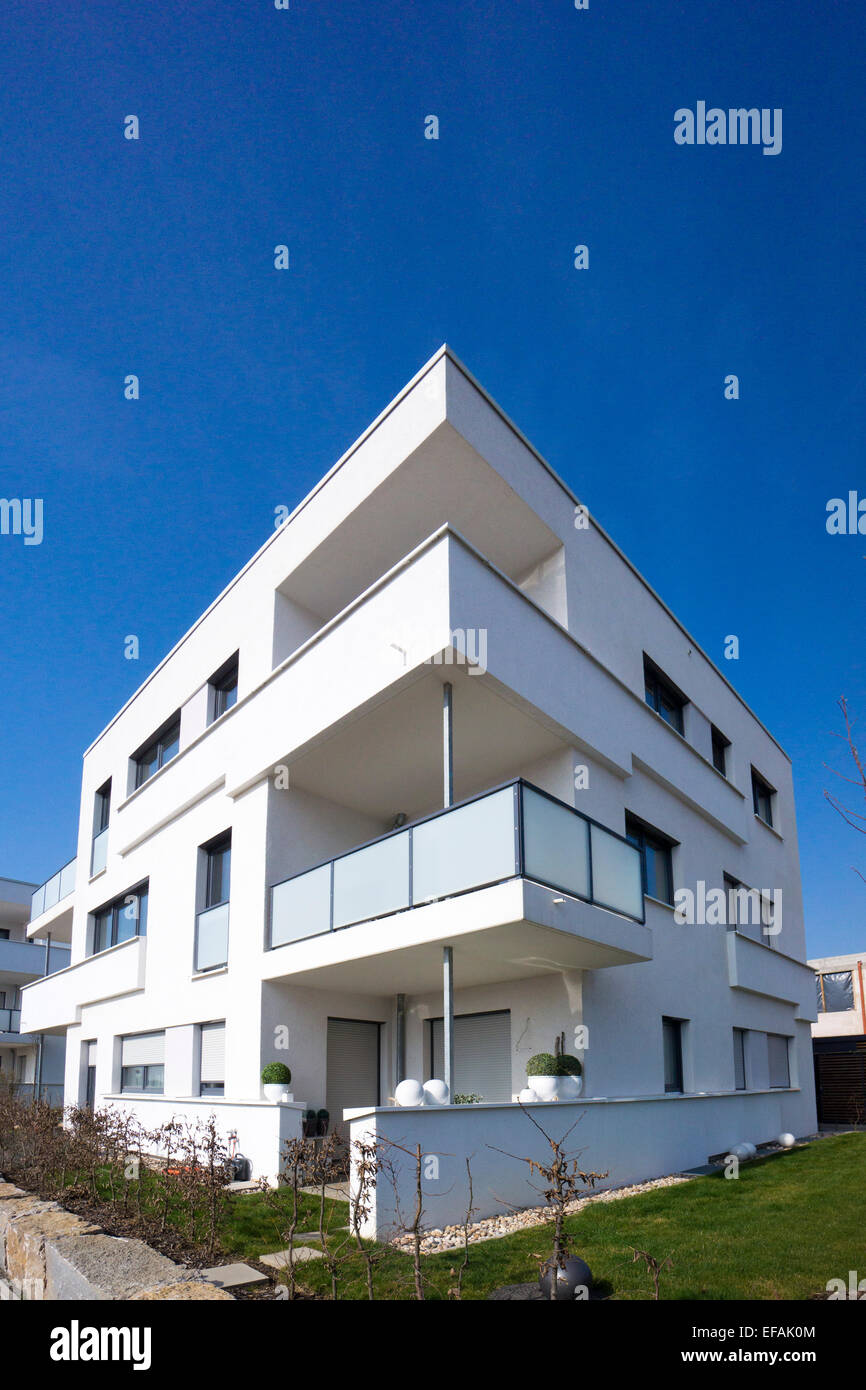 What Is Bauhaus Style multi family house modern architecture in the bauhaus style stock
