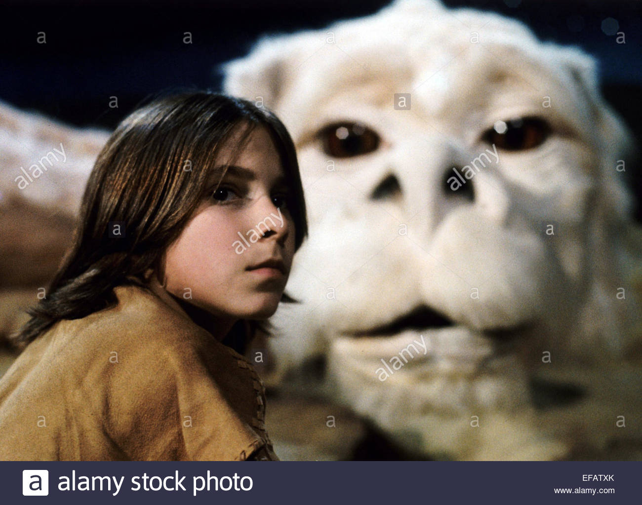 NOAH HATHAWAY THE NEVERENDING STORY (1984 Stock Photo ...