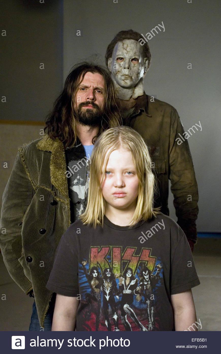 TYLER MANE ROB ZOMBIE & DAEG FAERCH HALLOWEEN (2007 Stock Photo ...