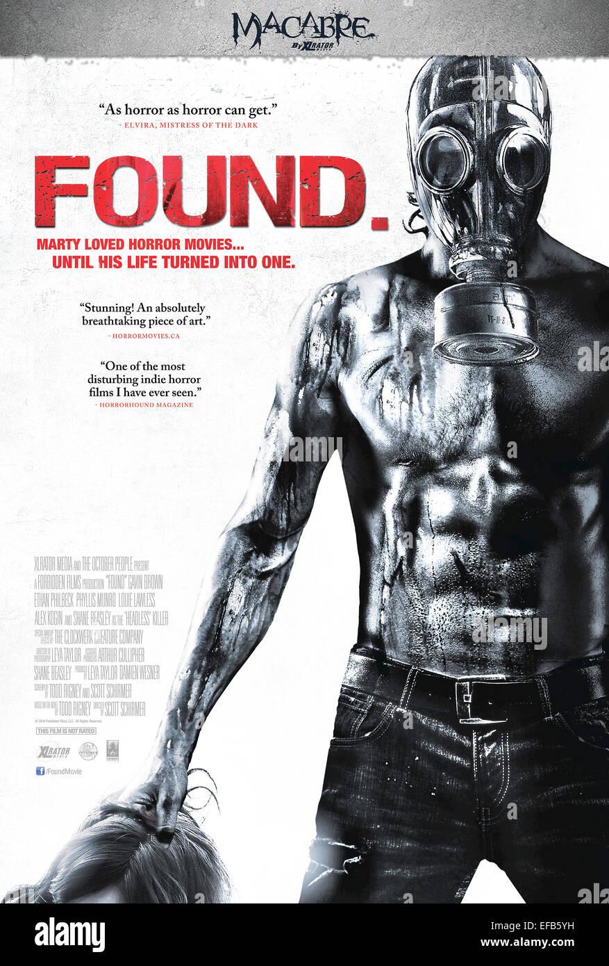 Risultati immagini per found film poster
