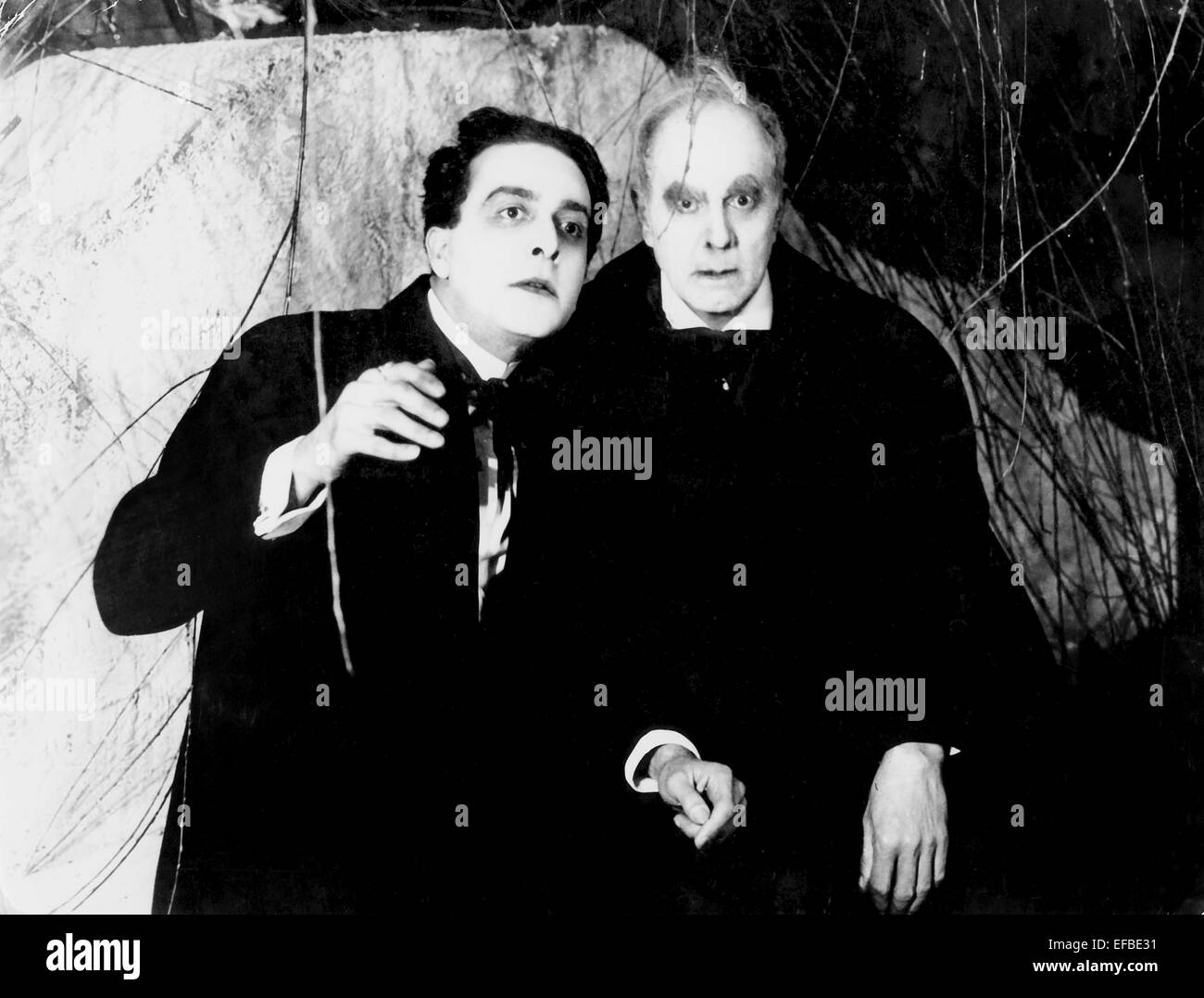 FRIEDRICH FEHER THE CABINET OF DR. CALIGARI (1920 Stock Photo ...