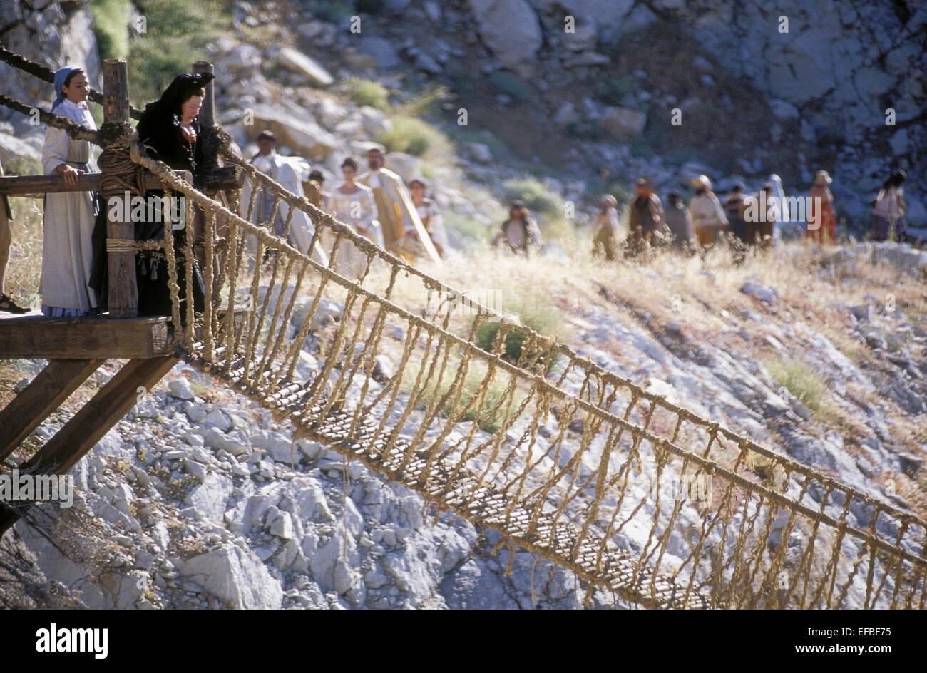 ADRIANA DOMINGUEZ THE BRIDGE OF SAN LUIS REY (2004 Stock Photo ...