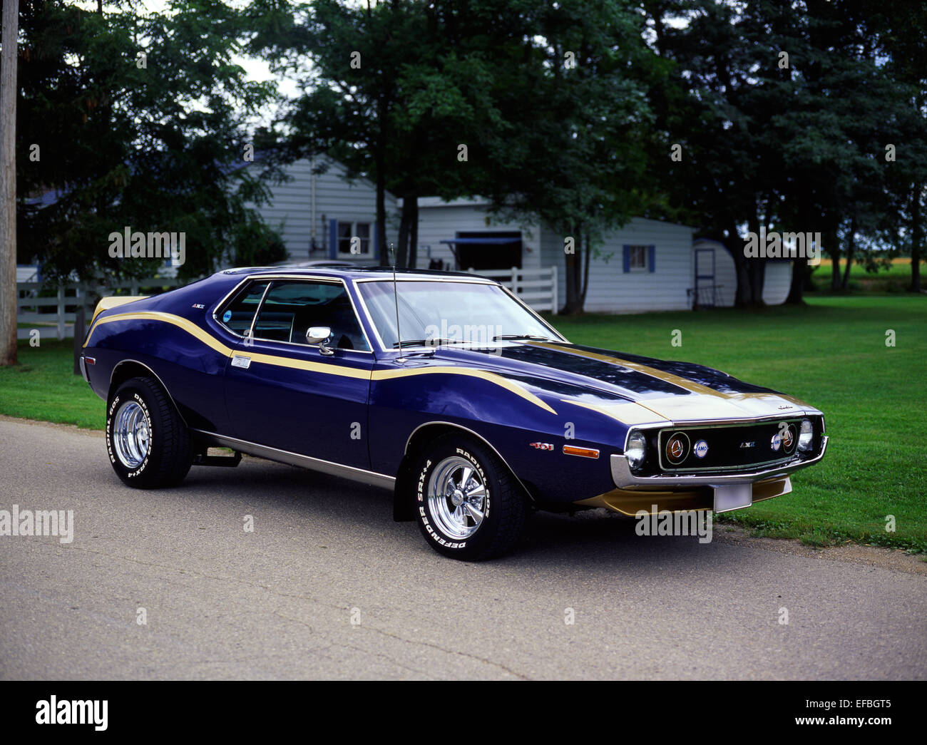 1973 American Motor Company Amc Javelin Amx Stock Photo