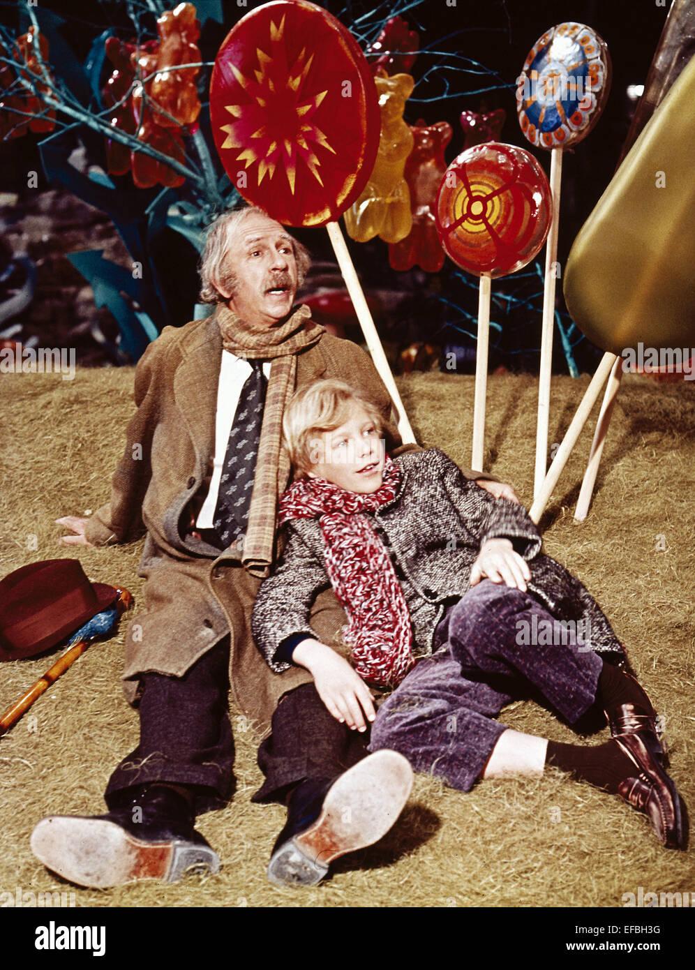 JACK ALBERTSON & PETER OSTRUM WILLY WONKA & THE CHOCOLATE FACTORY ...