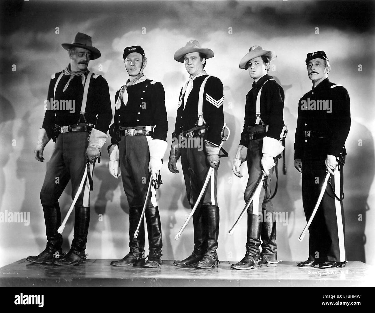 John Wayne Harry Carey Jr Ben Johnson George O Brien