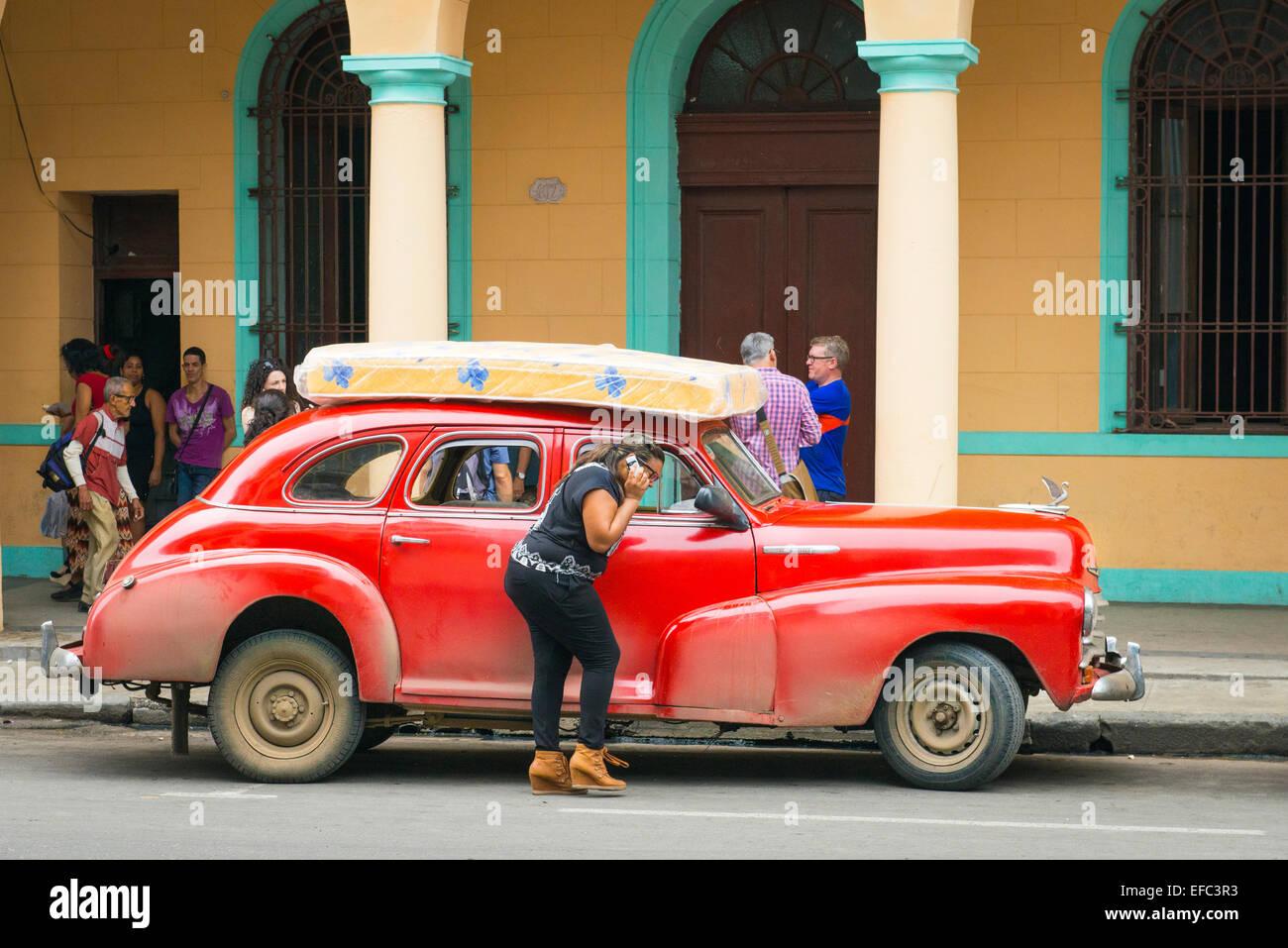 Cuba Old Havana La Habana Vieja Old Us American Vintage Classic