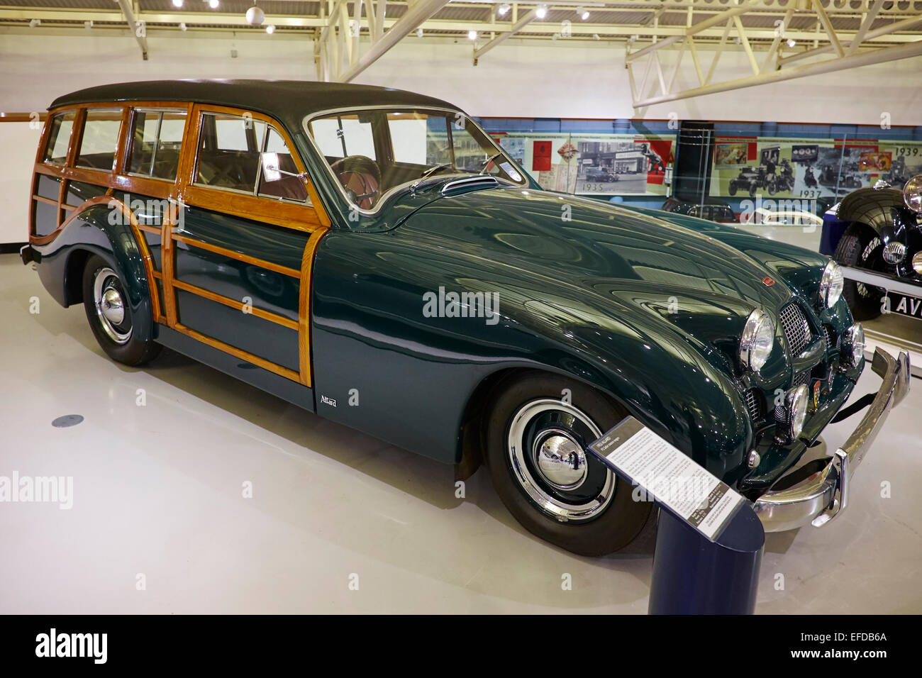 1953 Allard P2 Safari Station Wagon Heritage Motor Centre
