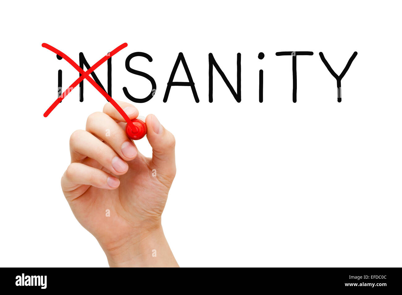 sanity and insanity But normality and abnormality, sanity and insanity, and the diagnoses that flow from them may be less substantive than many believe them to be indeed rosenhan's question of how we'll know sanity still stands, and we now know that biologizing the answer does not help.