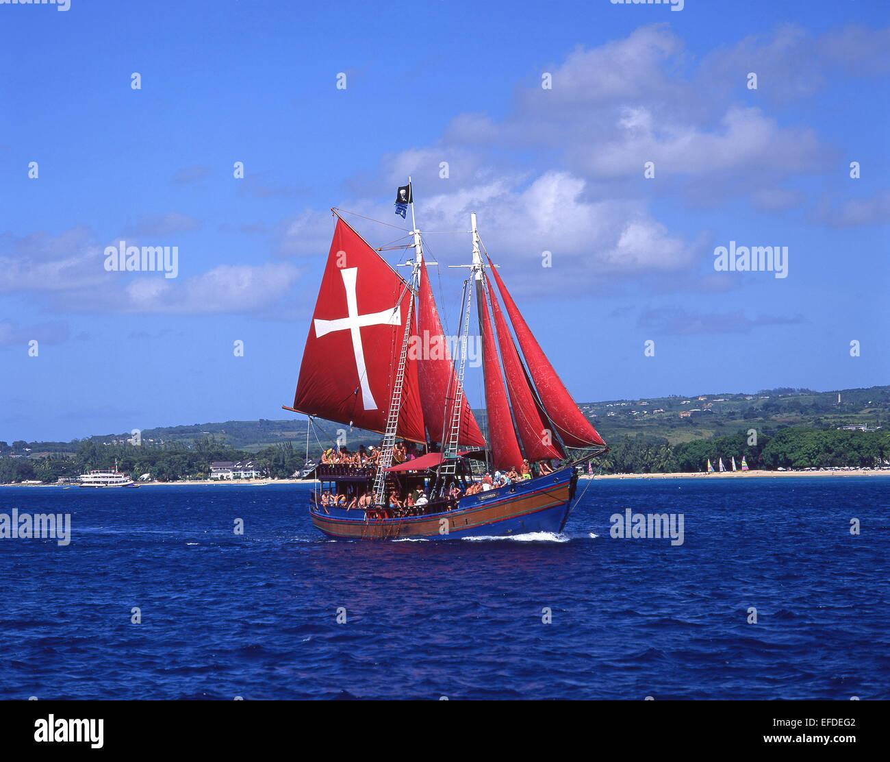 Jolly Roger Pirate Ship Cruise Barbados Lesser Antilles - Pirate ship cruise