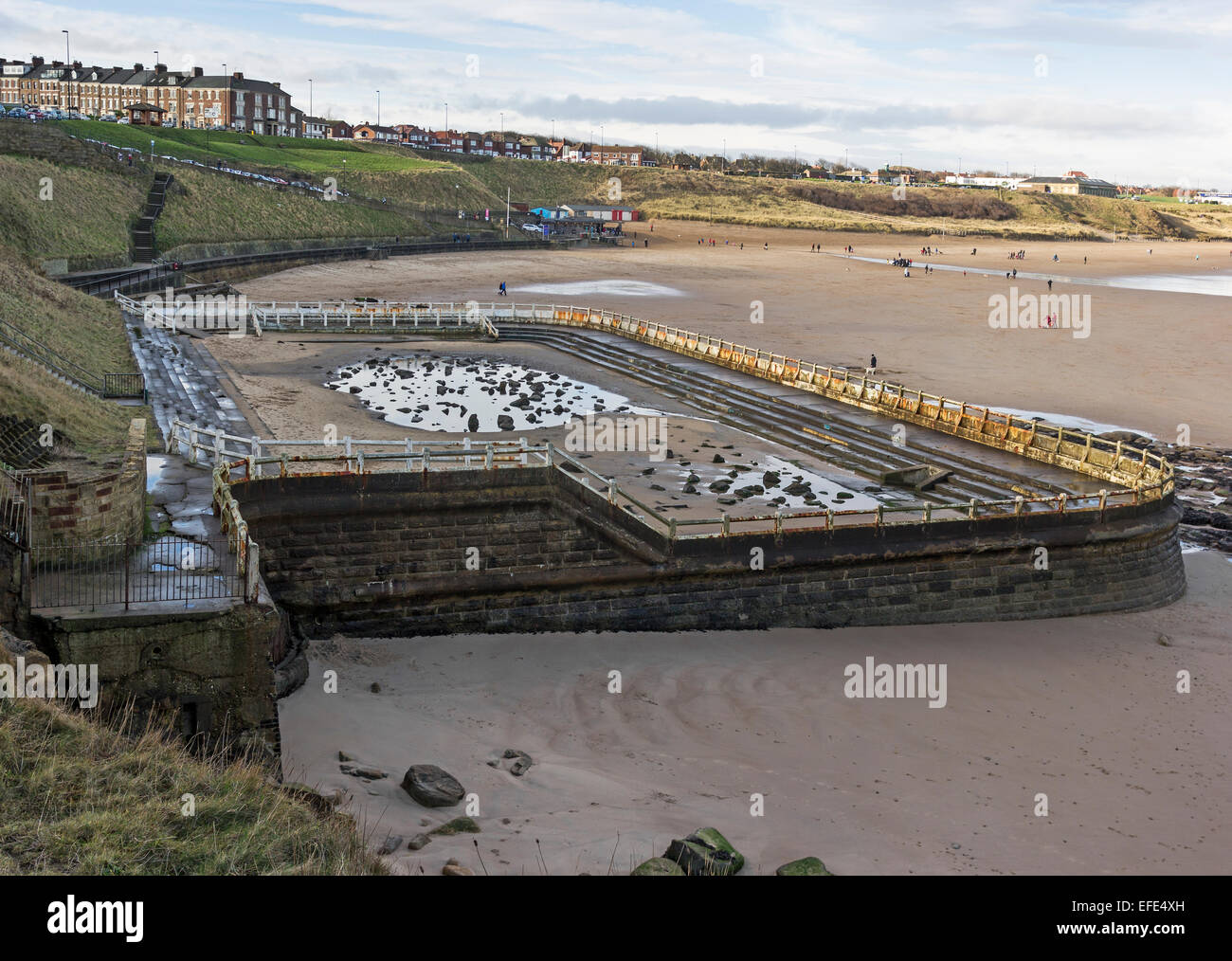 The lido open air swimming pool at tynemouth in north - An open air swimming pool crossword clue ...