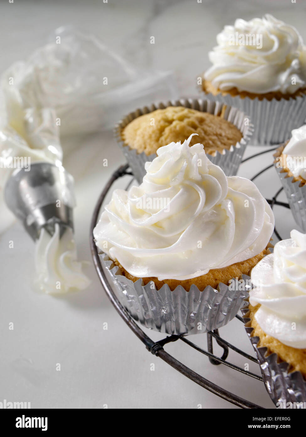 Cake And Frosting Made With Stevia
