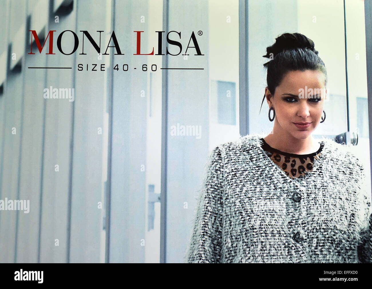 The logo of German women's plus size clothing label Mona ...