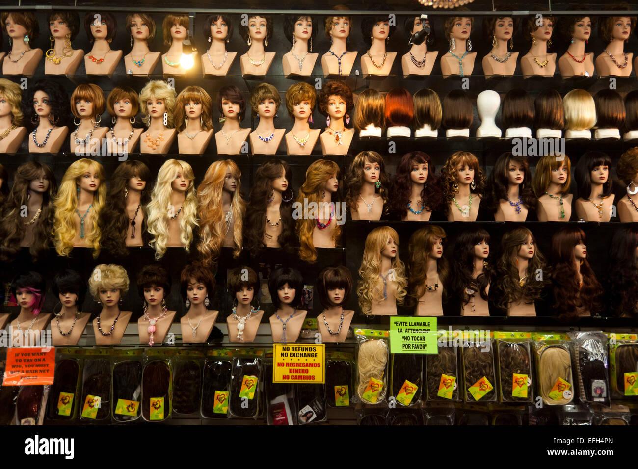 La la fashion district - Wigs Santee Alley La Fashion District Los Angeles California United States Of America