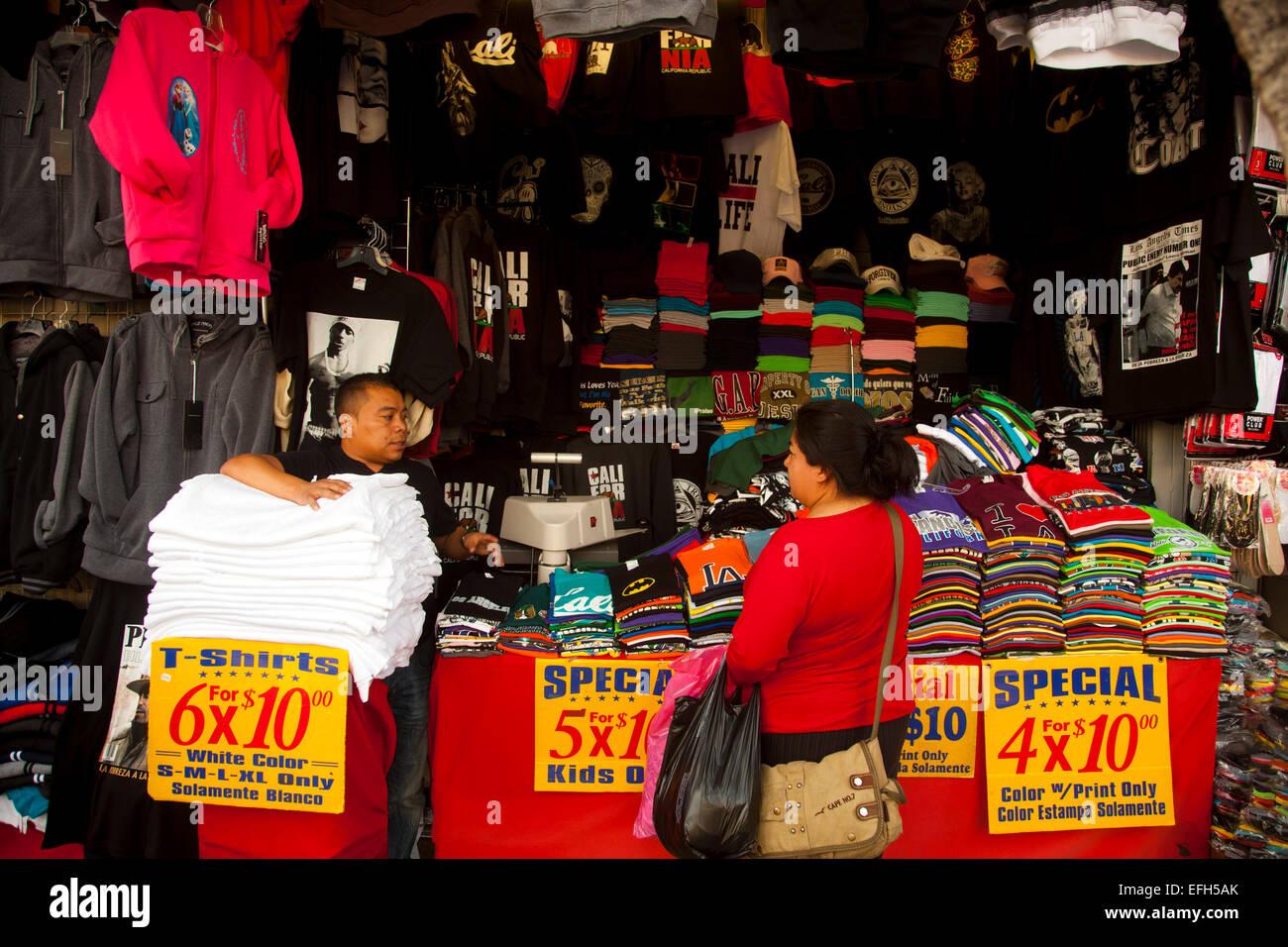 La la fashion district -  Santee Alley La Fashion District Los Angeles California United States Of America