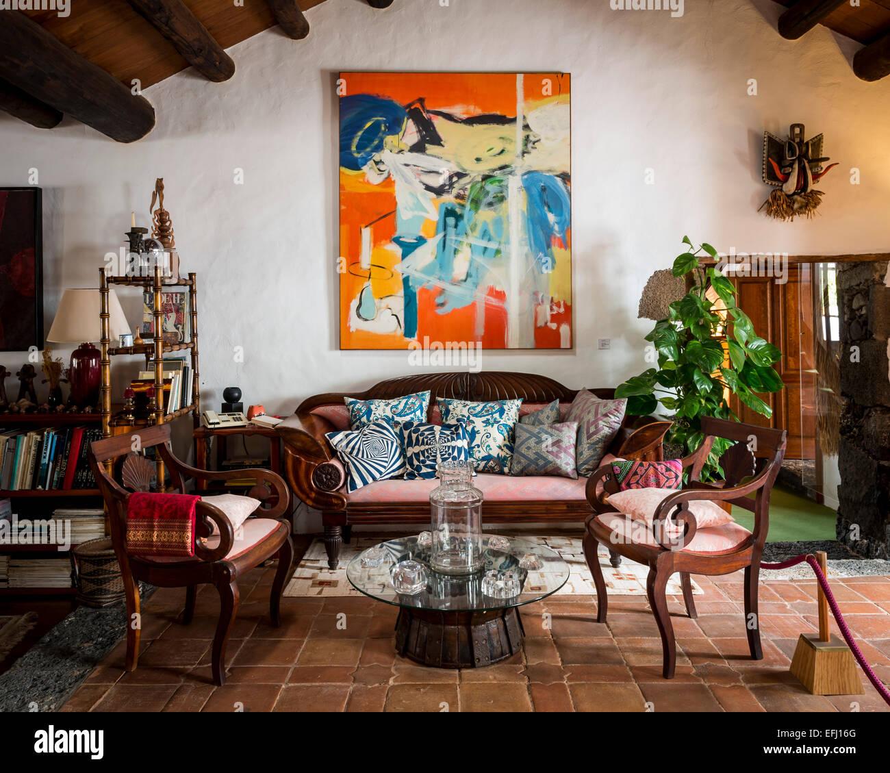 Casa museo c sar manrique lanzarote spain architect - Cesar manrique hijos ...
