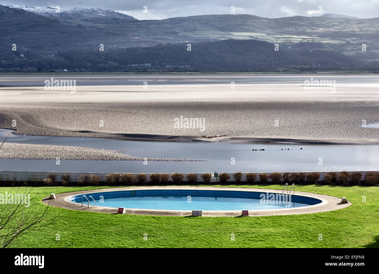 Portmeirion North Wales The Portmeirion Hotel Swimming Pool Stock Photo 78468804 Alamy