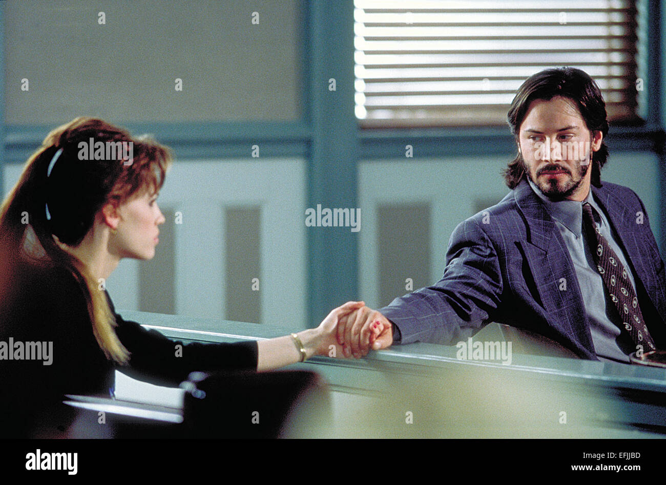 HILARY SWANK & KEANU REEVES THE GIFT (2000 Stock Photo, Royalty ...