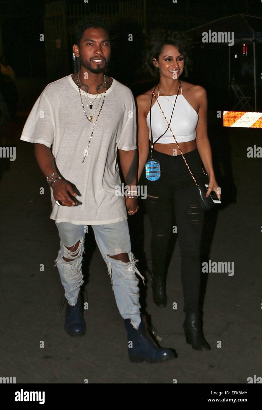 celebrities attend the beyonce and jay z concert at the rose bowl stock photo royalty free. Black Bedroom Furniture Sets. Home Design Ideas